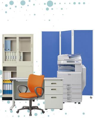 オフィス家具、事務用品の回収・処分
