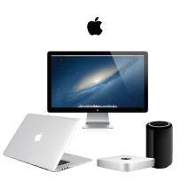 Mac MacPro、MacBookPro、MACmini、Mac液晶モニター
